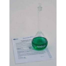 United Scientific Volumetric Flasks Qr 200Ml Class A With Glass Stopper Batch Certified